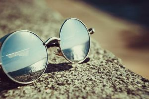 Pulire occhiali in vacanza